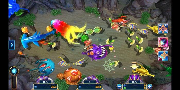 แนะนำเกม FISH HUNTER THE MOSAIC GOLD DRAGON